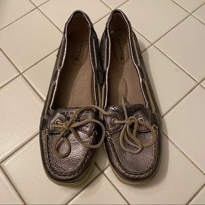 Sparkly Sperry Top Siders